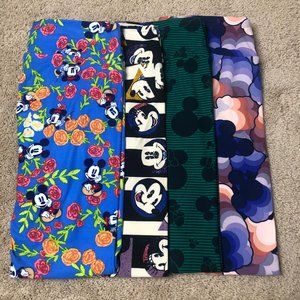 LuLaRoe Disney Mickey & Minnie TC Leggings